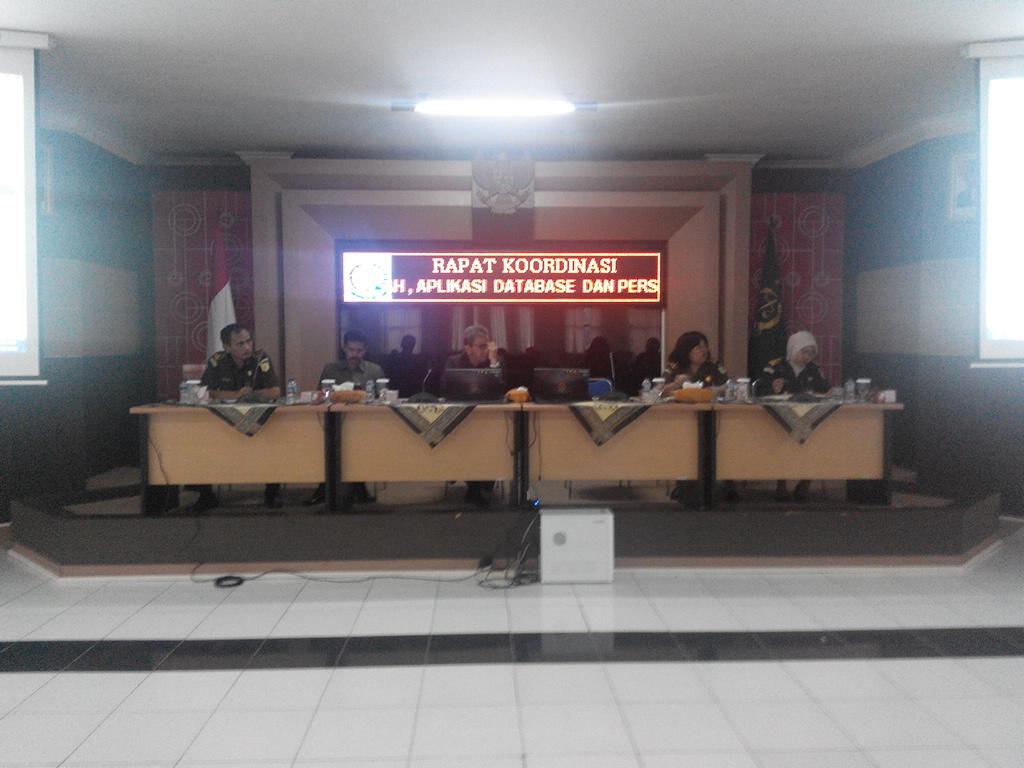 Rapat Koordinasi Kejati Banten
